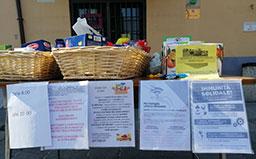Gattaglio, un punto di raccolta di benialimentari per i cittadini in difficolta'