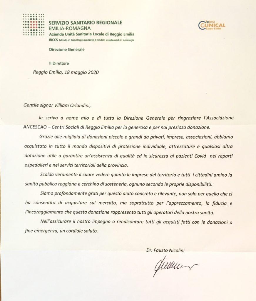 lettera nicolini